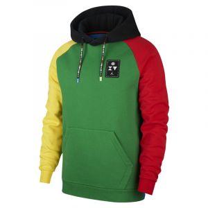 Nike Haut en Fleece Jordan Quai 54 Pullover pour Homme - Vert - Taille S - Male