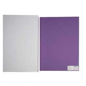 Creotime Papier cartonné A4 Pourpre - 180 gr - 20 pcs