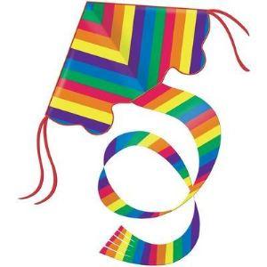 Gunther 1159 - Cerf-volant monofil Rainbow