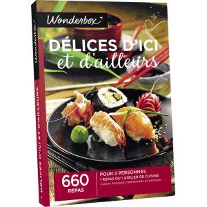 Wonderbox cours de cuisine et d 39 oenologie coffret cadeau for Wonderbox cours de cuisine