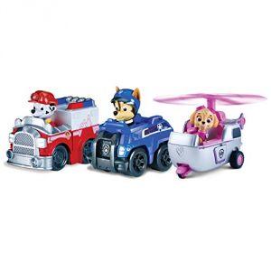 Spin Master Pat' Patrouille - Pack de 3 véhicules de secours miniatures