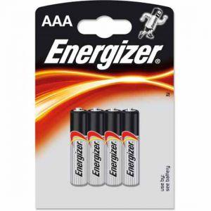 Energizer Piles alkaline power LR03/AAA - Les 4 piles