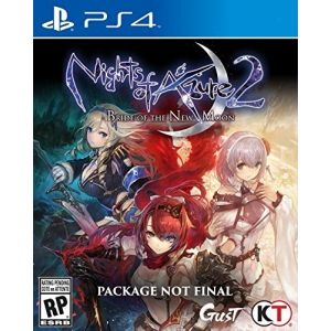 Night Of Azure 2 sur PS4