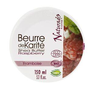 Naturado Beurre karité framboise 150 ml