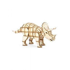 Kikkerland Puzzle 3D en bois Triceratops