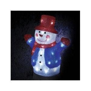 Raphou - Bonhomme de neige lumineux 40 LED