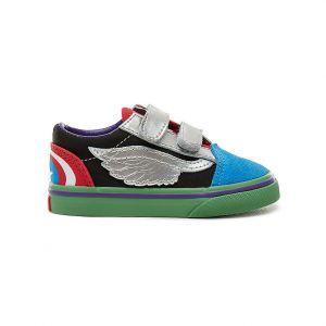 Vans Chaussures X Marvel Td Old Skool Multicolor - Taille 19,20,22 1/2,21 1/2,120 cm