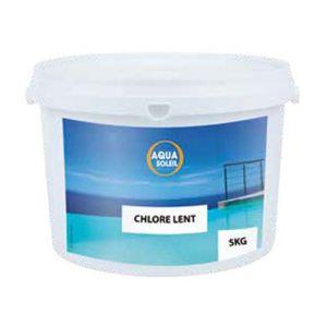 Aqua Soleil Chlore lent galet de 250 gr par 5 kg - 737105
