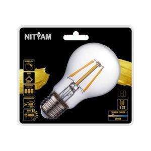 Nityam Ampoule LED STANDARD FILAMENT CLAIR