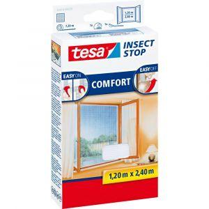 Tesa Moustiquaire Comfort pour les fenêtres (120 x 240 cm)