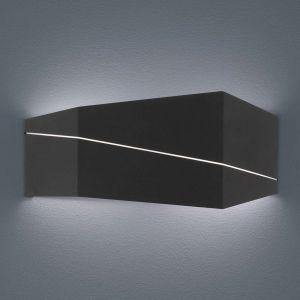 Trio Zorro - applique LED moderne, noir mat, 40 cm