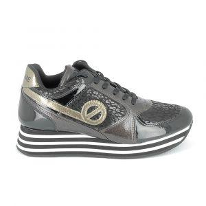 No Name Chaussures Parko Jogger Noir Marron Noir - Taille 36,37,38,39