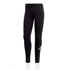 Adidas W MH BOS Tight Collant Femme, Noir/Blanc, FR : M (Taille Fabricant : M)