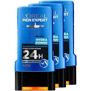 L'Oréal Men Expert Hydra Power - Gel douche Eau des montagnes