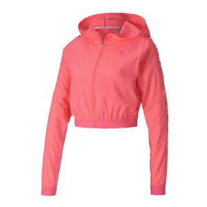 Puma Veste coupevent Be Bold Woven Ignite Rose - Taille M