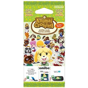 Nintendo Pack de 3 cartes Amiibo - Animal Crossing Happy Home Designer Série 1