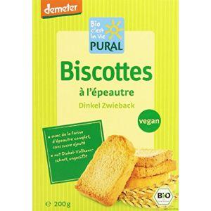 Pural Biscotte à l'Epeautre Bio 200g