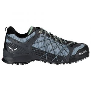 Salewa WS Wildfire, Chaussures de Randonnée Basses Femme Gris (Magnet / Blue Fog 0734) 38.5 EU