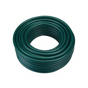 Silverline 868622 - Tuyau arrosage vert PVC renforcé 30 m