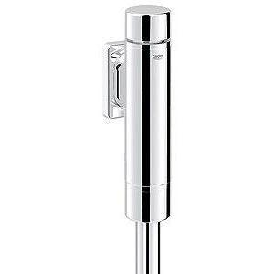 Grohe 37349000 - Robinet de chasse RONDO pour WC 20x27 robinet d'arrêt intégré avec rosace chromé