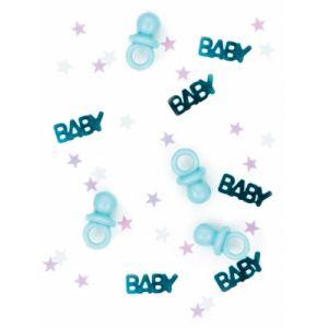 Confettis tétine baby bleu 14 g Taille Unique