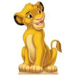 Figurine en carton taille réelle Simba