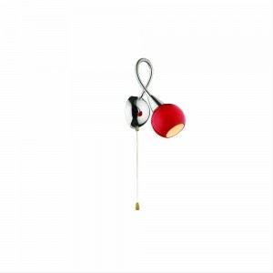 Applique Tender 1 ampoule en chrome avec bras flexible