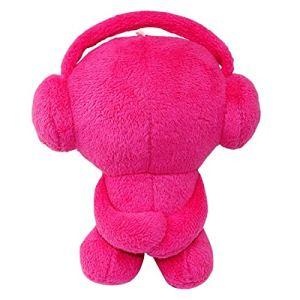 WE Mini DJ Teddy - Nounours haut-parleur portable Bluetooth