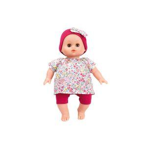 Petitcollin Bébé Petit Câlin 28 cm - Ecolo doll - Habillage Anémone