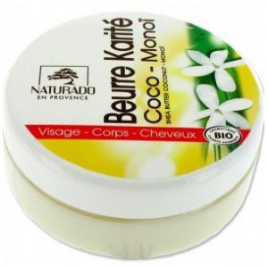 Naturado Beurre de karité coco monoï bio