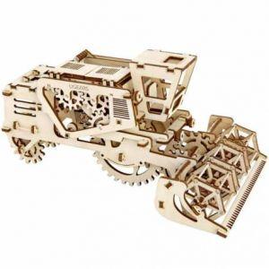 Reverie ugears véritable-Combine Harvester, sans colle 3D en bois Kit