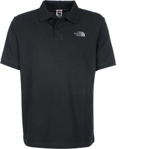 The North Face Polo POLO PIQUET Noir - Taille S,M,L