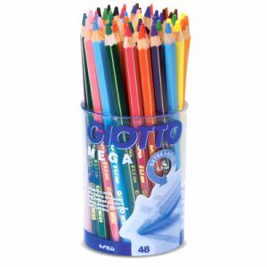 Giotto Lots de crayons de couleur Mega - 48 crayons