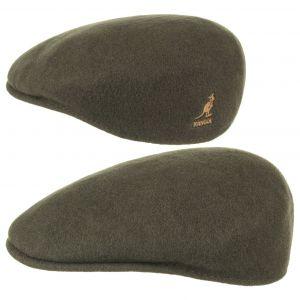 Kangol Bonnet Wool 504 - Mixte - Vert (Loden) - X-Large