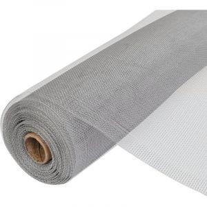 VidaXL Treillis contre insectes Aluminium pour porte/fenêtre 150x500cm
