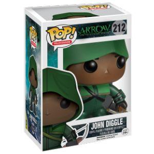 Funko Figurine Pop! Dc Comics : Arrow John Diggle