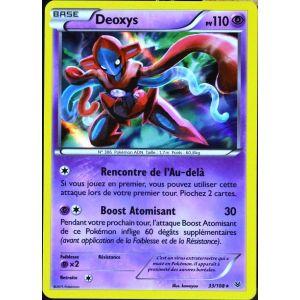 Asmodée Deoxys - Carte Pokémon 33/108 Super Rare Xy 6 Ciel rugissant