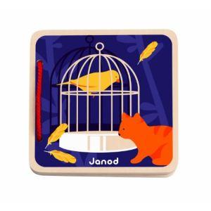 Janod Livre d'éveil: Happy Animo'