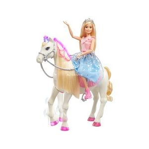 Mattel Barbie Princesse cheval merveilleux