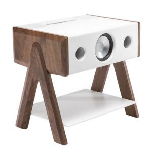 La boite concept Cube CS - Enceinte acoustique sans fil Bluetooth 4.0 Apt-X AirPlay