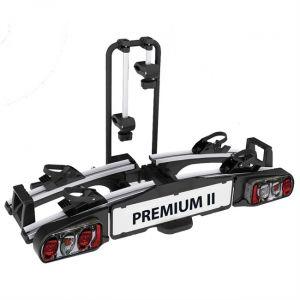 EUFAB Porte-vélos D'attelage Plate-forme Premium 2 11521 Pour 2 Vélos Compatible Vélos Électriques