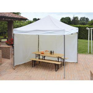 Chapiteau-tente professionnelle carré pliant 3 x 3 m