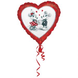 Amscan Ballon en aluminium Mickey et Minnie in Love 45 cm