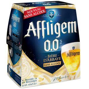 Affligem Bière Belge D'abbaye Sans Alcool - Le Pack De 6 Bouteilles De 25cl