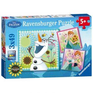 Ravensburger 3 puzzles La Reine des neiges 49 pièces