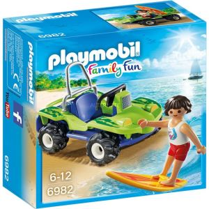 Playmobil 6982 Family Fun - Surfer et Buggy
