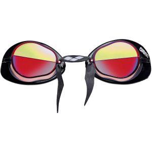 Arena Swedix Mirror 92399 - Lunettes de natation rouge/jaune/noir