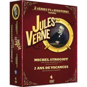 Jules Verne - Coffret : Michel Strogoff + Deux ans de vacances