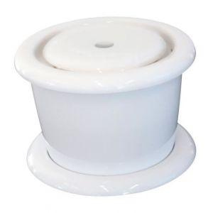 M pets Fontaine à eau Drinking - Blanc - Pour chien