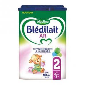 Blédina Blédilait AR 2ème âge 800 g - de 6 à 12 mois